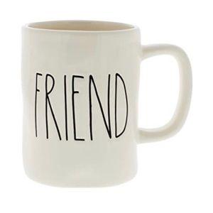 Rae Dunn Magenta Friend Mug
